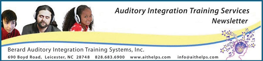 Auditory Integration Training Services Newsletter